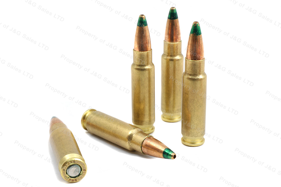 5 7x28mm fnh 27gr hp ss198lf green tip le ammo 50rd box
