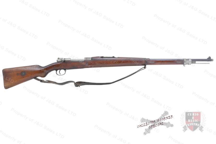 brazilian 1908 mauser bolt action rifle 7x57 29 barrel c r good