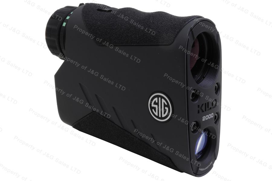 Sig Sauer KILO2000 7x25mm Laser Rangefinding Digital Monocular, Graphite   New