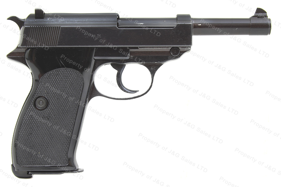 Walther P38 Semi Auto Pistol, 9mm, BYF 1943, Czech VZ46, C&R, VG Condition,  Used