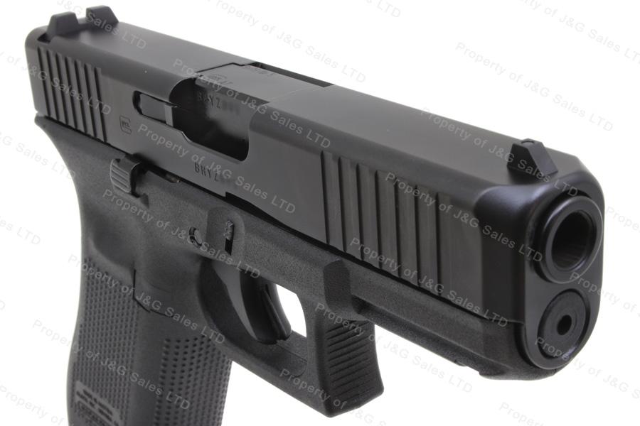 glock 45 9mm gen 5 semi auto pistol fixed sights black new