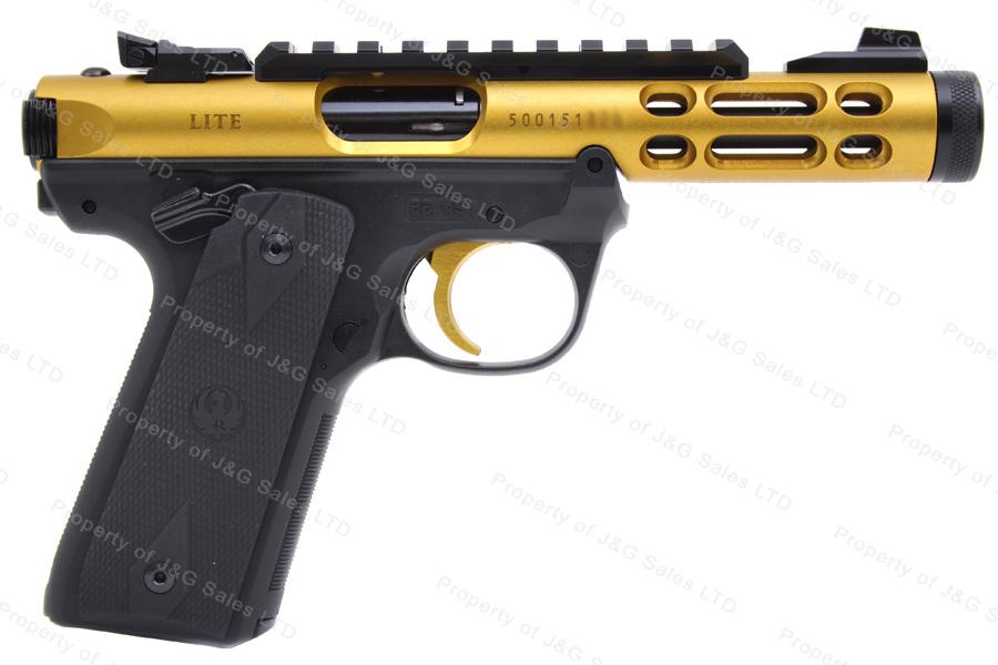 Ruger® 22/45LITE™ MKIV™ Semi Auto Pistol, 22LR, 4 4