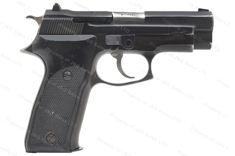 Astra A80 Semi Auto Pistol, 9mm, Black, Decocker, 15rd Mag, G-VG, Used