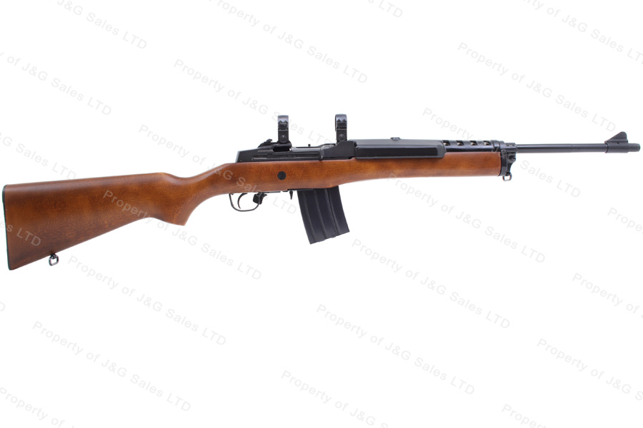 Ruger® Mini-14® Semi Auto Ranch Rifle, 223, Wood Stock, Excellent, Used