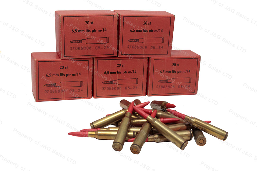 6 5x55 swedish m14 blank wooden projectile 4800rds
