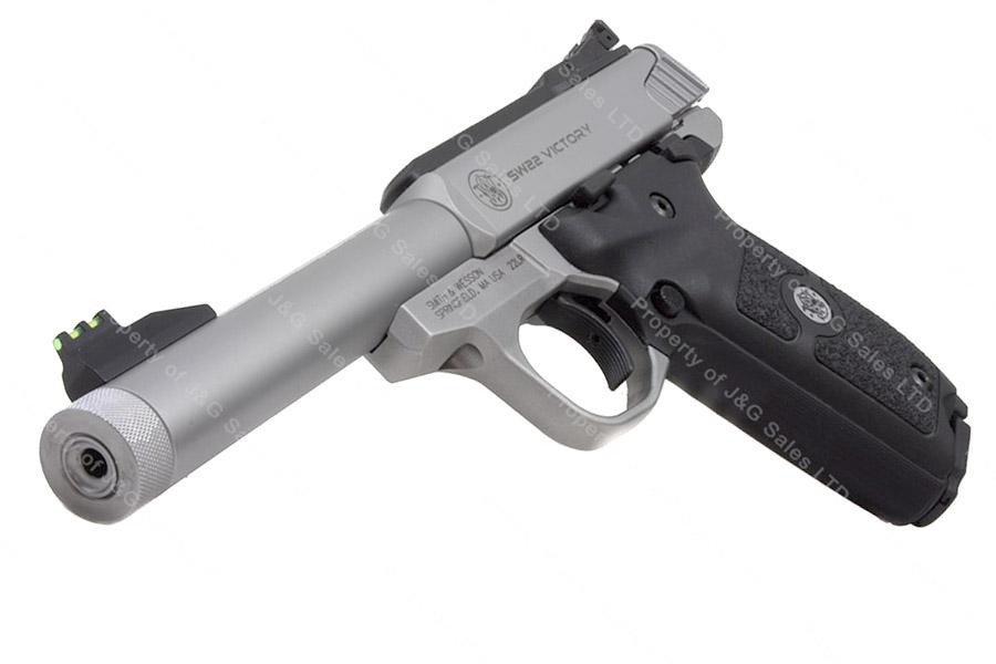 Smith Amp Wesson 22 Victory Semi Auto Pistol 22lr 5 5