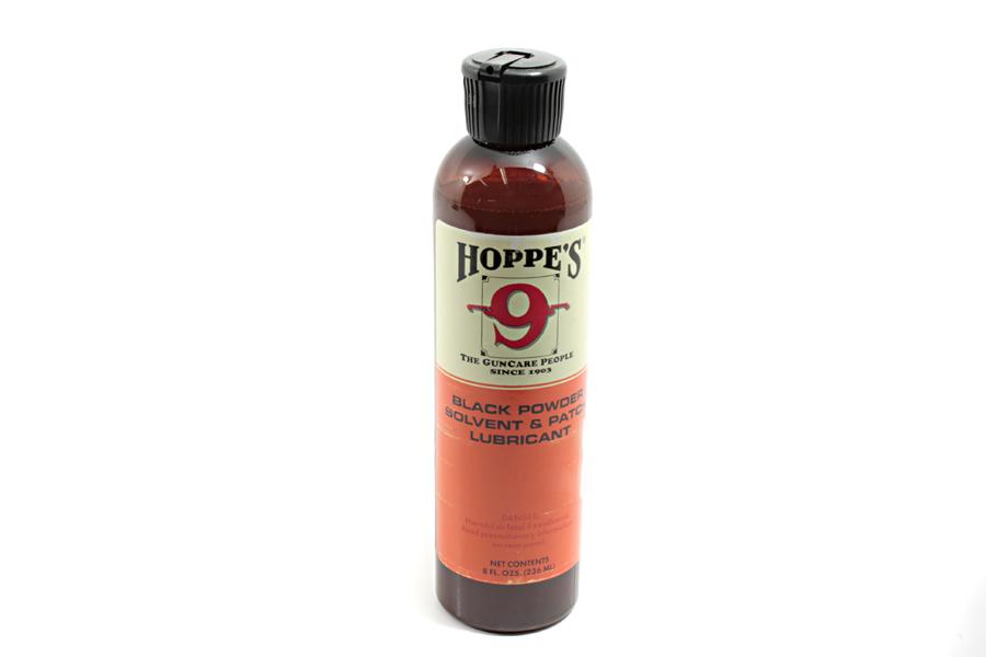 Hoppes No  9 Solvent, Plus Corrosive Ammo and Black Powder, 8 oz Bottle