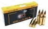 6.8 SPC Sellier & Bellot 110gr PTS Pointed Tip Ammo, 20rd Box.