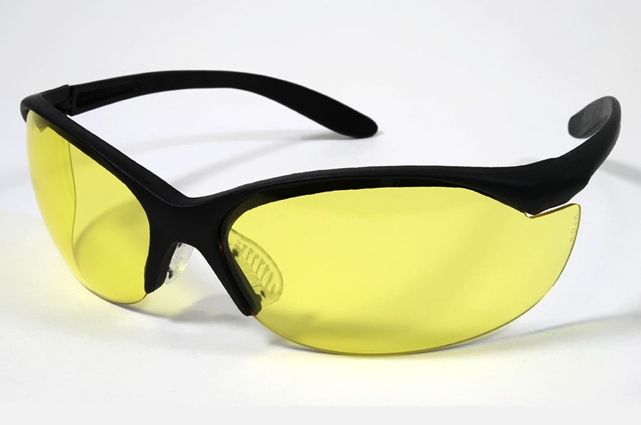 Leight Vapor II Amber Yellow Shooting Glasses. R01536.