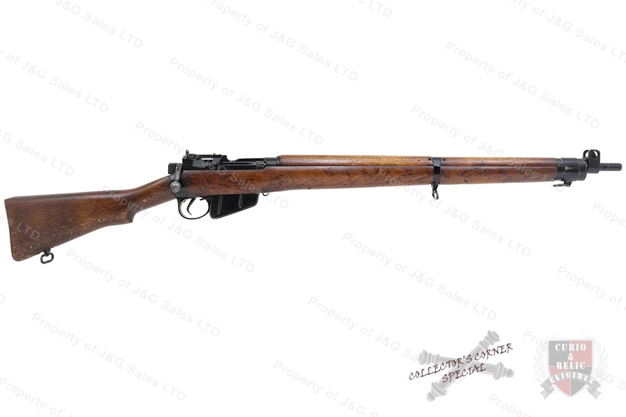 Enfield #4 MK 1 M/47C  Bolt Action Rifle, 303 British, BSA Shirley Mfg, C&R, Good to VG, Used.