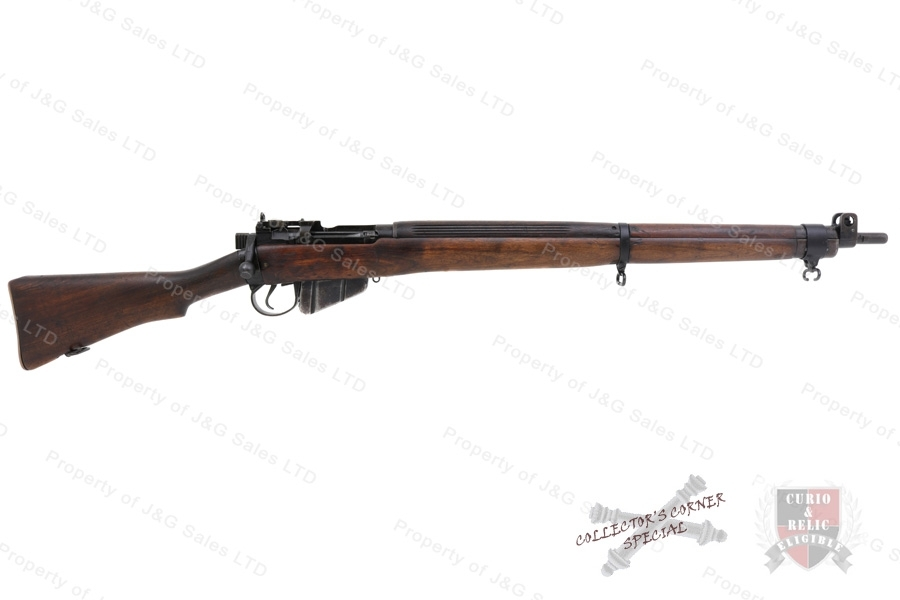 Enfield #4 MK 1/3 Bolt Action Rifle, 303 British, C&R, Modified Long Branch #4 MK 1*, Good to VG, Used