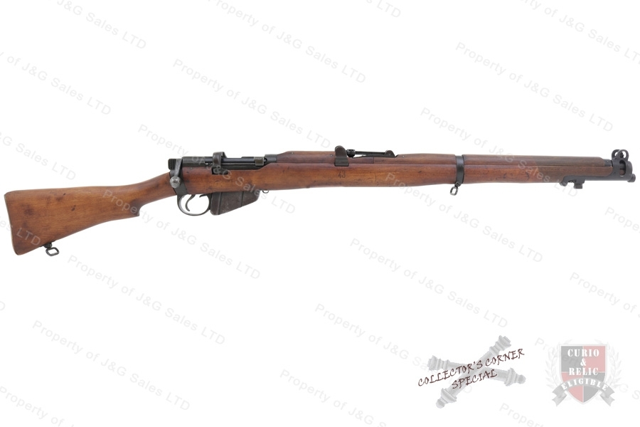 Enfield #1 MKIII* Bolt Action Rifle, 303 British, BSA, C&R, VG, Used.