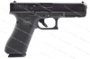 Glock 17 9mm Gen 5 Semi Auto Pistol, nDLC Finish, Black, New.