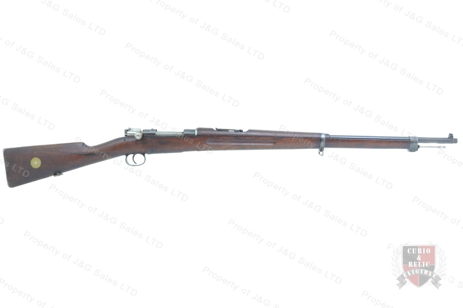 Swedish 1896 Mauser Bolt Action Rifle, 6.5x55 Swede, 29 Barrel, 1917 Mfg, C&R, Good to VG, Used.