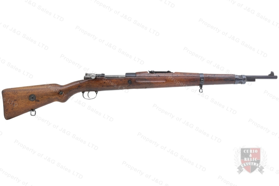 Czech VZ24 Mauser Bolt Action Rifle, 8x57, C&R, Good to VG, Used.
