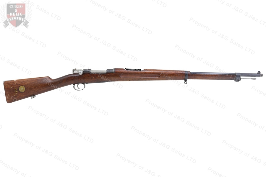 "Swedish 1896 Mauser Bolt Action Rifle, 6.5X55 Swede, 29"" Barrel, 1905 Mfg, C&R, VG, Used."