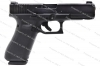 Glock 17 9mm Gen 5 Semi Auto Pistol, Night Sights, nDLC Finish, Black, New.