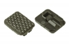 VISM M-Lok Rail Covers, Pack of 18, OD Green, VAML1CG