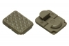 VISM Keymod Rail Covers, Pack of 18, OD Green, VAKM1CG