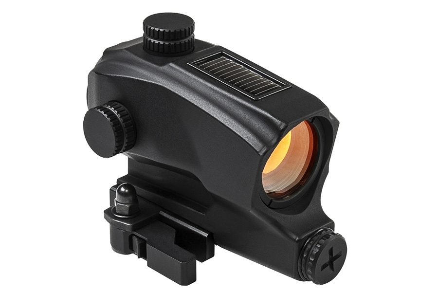 VISM SPD Red Dot Optic Sight, Auto Brightness and On/Off, Integral QR Picatinny Mount. New.