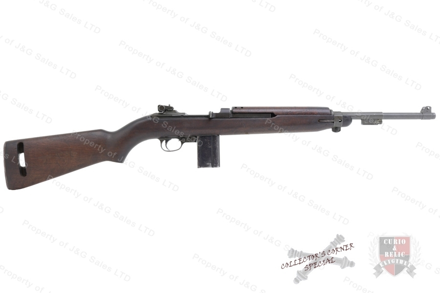 "M1 Carbine Semi Auto Rifle, 30 Cal, National Postal Meter with ""WP"" Barrel, C&R, G-VG, Used."