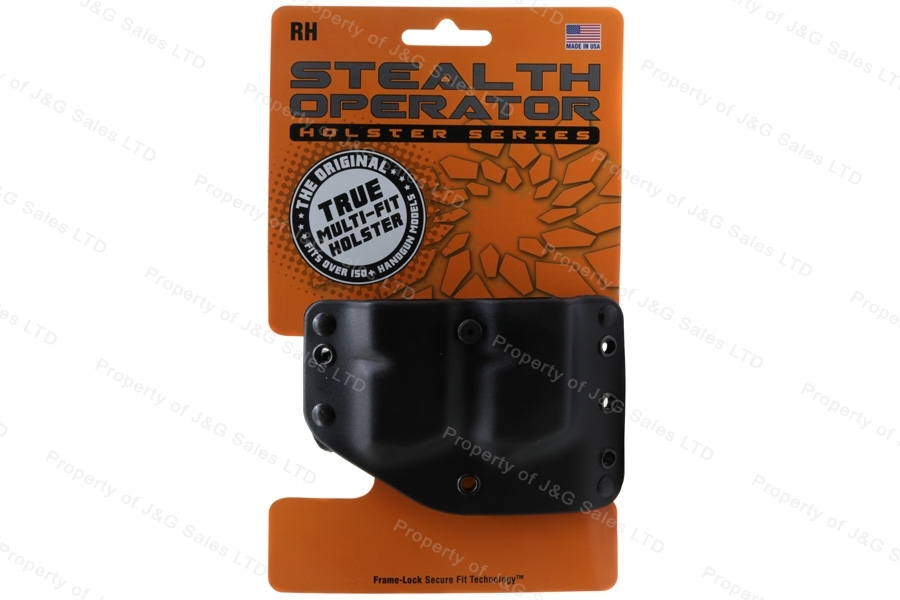 Phalanx Stealth Operator Double Magazine Pouch, Fits Most Glock Magazines, New.