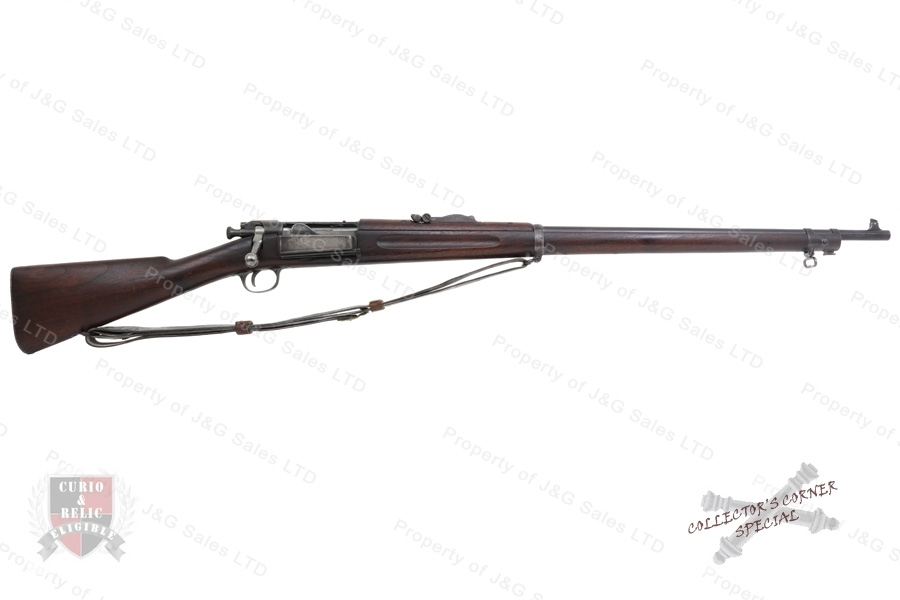 "Springfield 1898 Krag Bolt Action Rifle in 30-40 Krag, 30"" Barrel, C&R, Good to VG, Used."