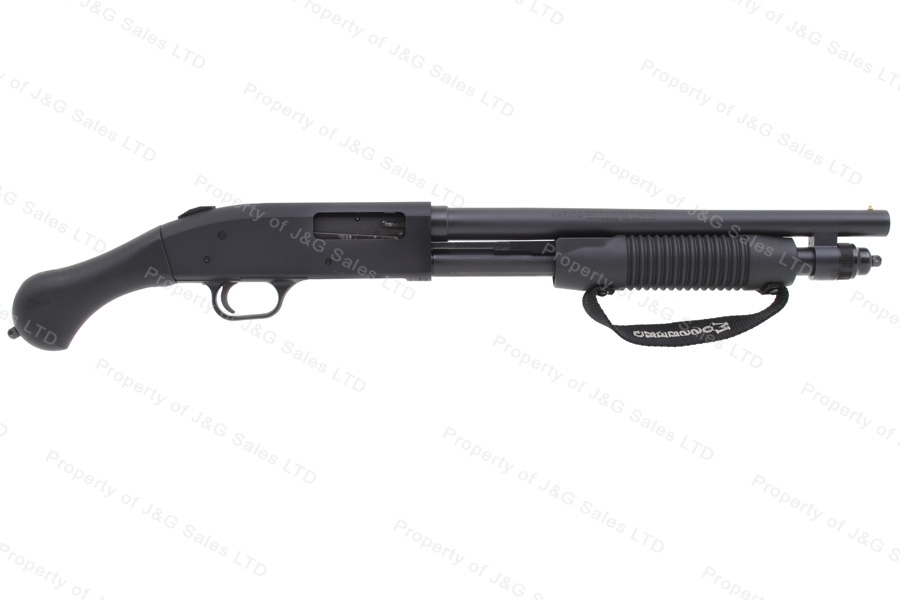 "Mossberg 590 Shockwave Pump Action Firearm, 20GA, 14"" Barrel, Raptor Grip, Not NFA, New."