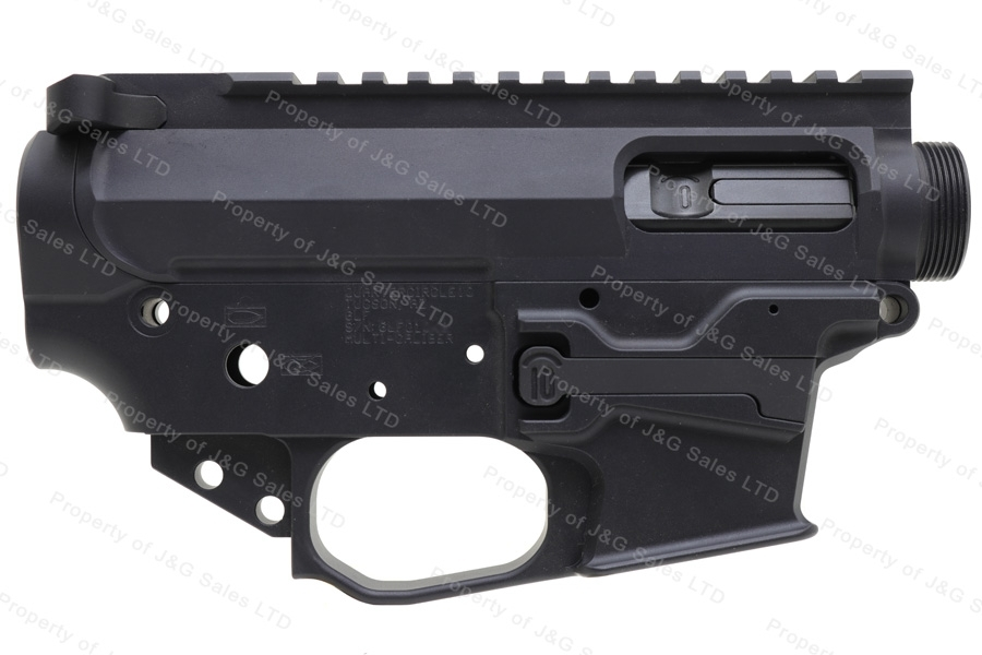 Quarter Circle 10 Receiver Set, AR15 Large Frame Lower & Upper, With Bolt for 10mm or 40, New.