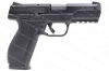 "Ruger® American Semi Auto Pistol, 9mm, 4.2"" Barrel, 17rd Mag, With Safety, Black, New."