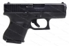 Glock 26 9mm Gen 5 Semi Auto Pistol, nDLC Finish, Black, New.