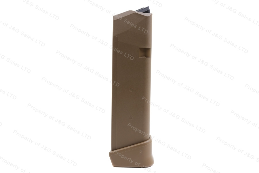 Glock 19X & 17 9mm 19rd Factory Magazine, Coyote Tan, New.