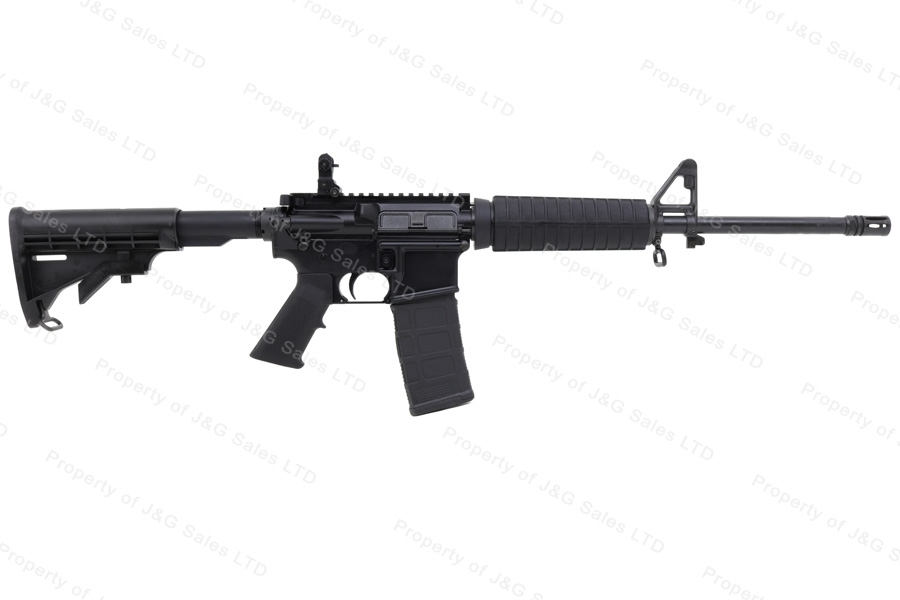 "Del-Ton DTI 15 Echo 316M Semi Auto Carbine, 5.56/223, M4 Style, 16"" Barrel, Flip Up Sight, Black, New."