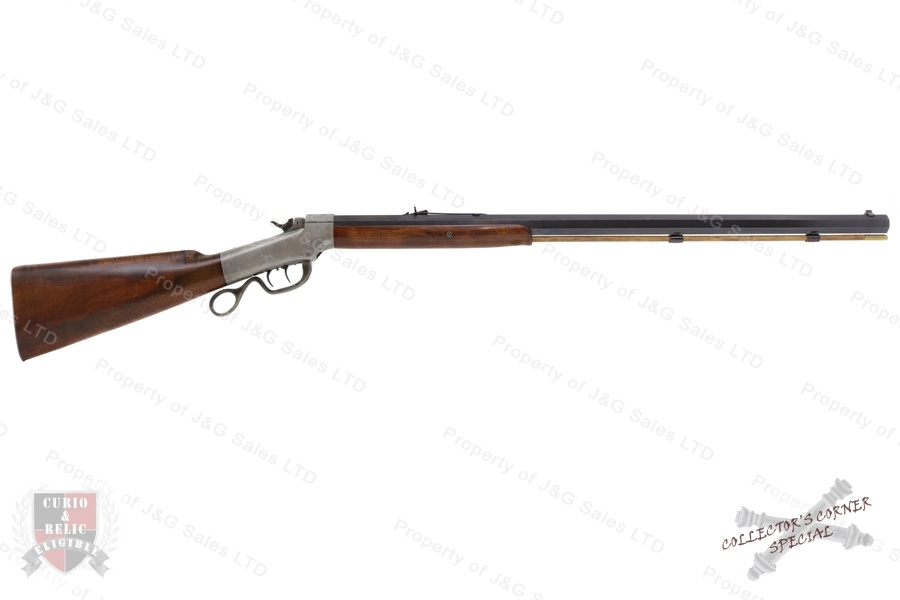 "Marlin/Ballard No. 5 Pacific Falling Block Action Rifle, 45-70, 30"" Barrel, Antique Non-Firearm, G-VG, Used."
