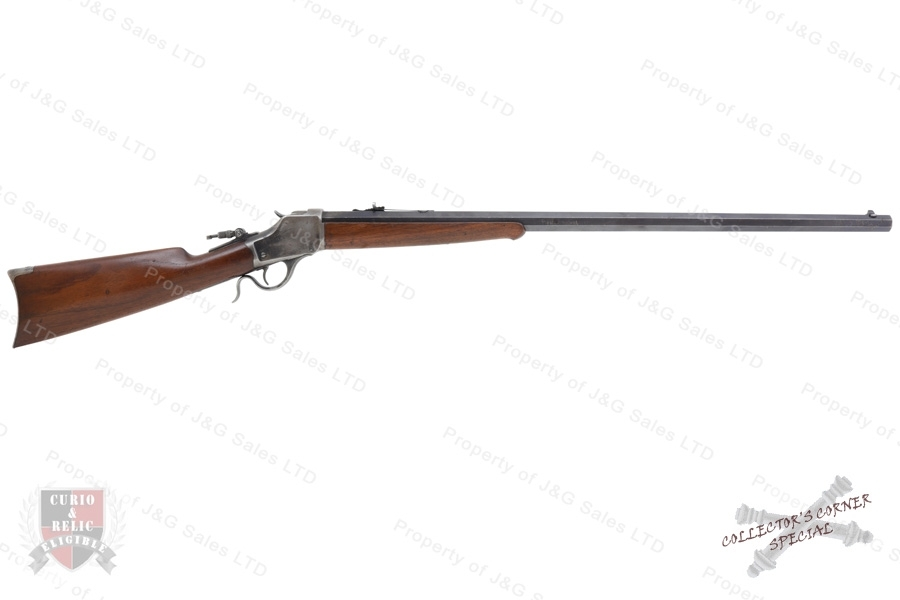 "Winchester 1885 Falling Block Action Rifle, 32-40, 30"" #3 Oct. Barrel, High Wall, C&R, G-VG, Used."