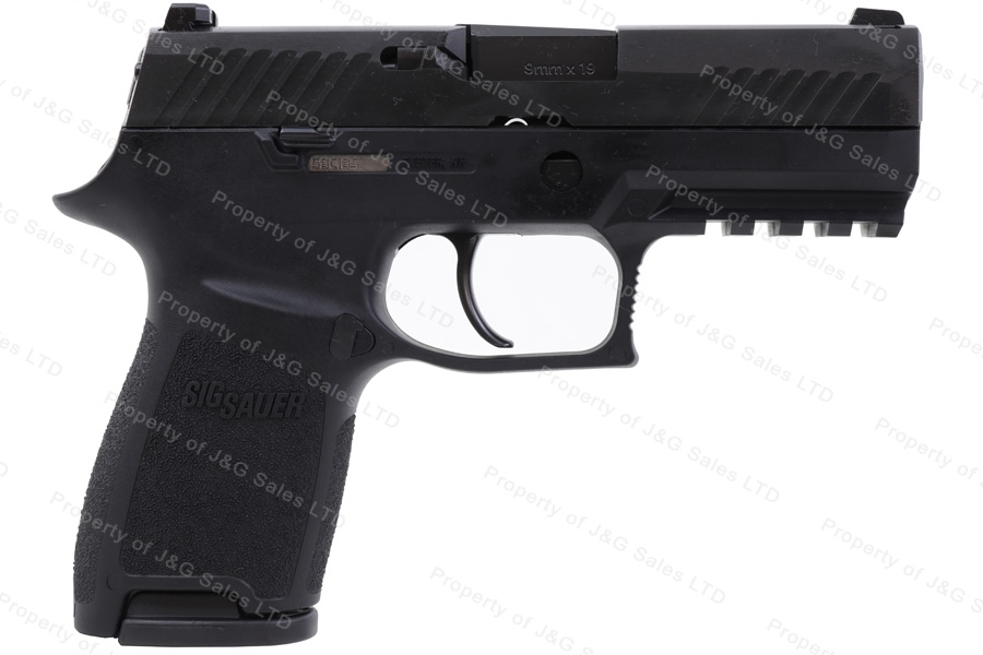 "Sig Sauer P320 Compact Semi Auto Pistol, 9mm, 3.9"" Barrel, Black, New."