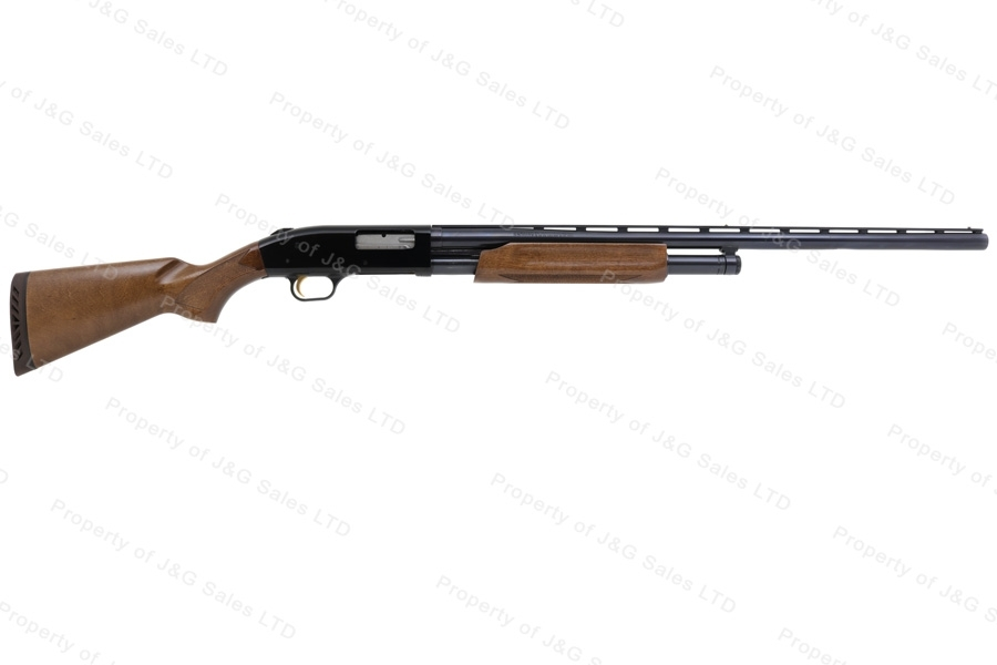 "Mossberg 500A Ducks Unlimited Pump Action Shotgun, 12ga, 28"" Vent Rib Accu-Choke Barrel, VG, Used."
