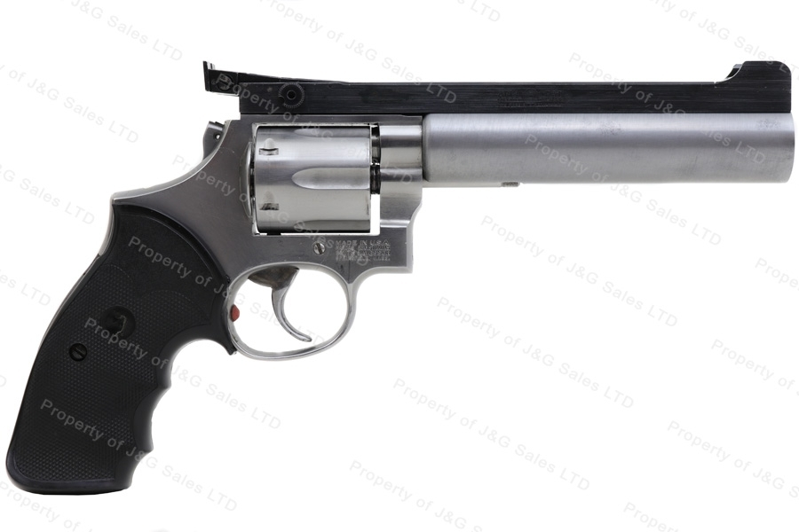 "Smith & Wesson 686 Revolver, 357 Magnum, 6"" Bull Barrel, GSS, Used, S&W."