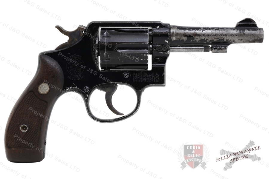 "Smith & Wesson USAF M13 Aircrewman Lightweight Revolver, 38 Special, 4"" Barrel, GSS, Used, S&W."
