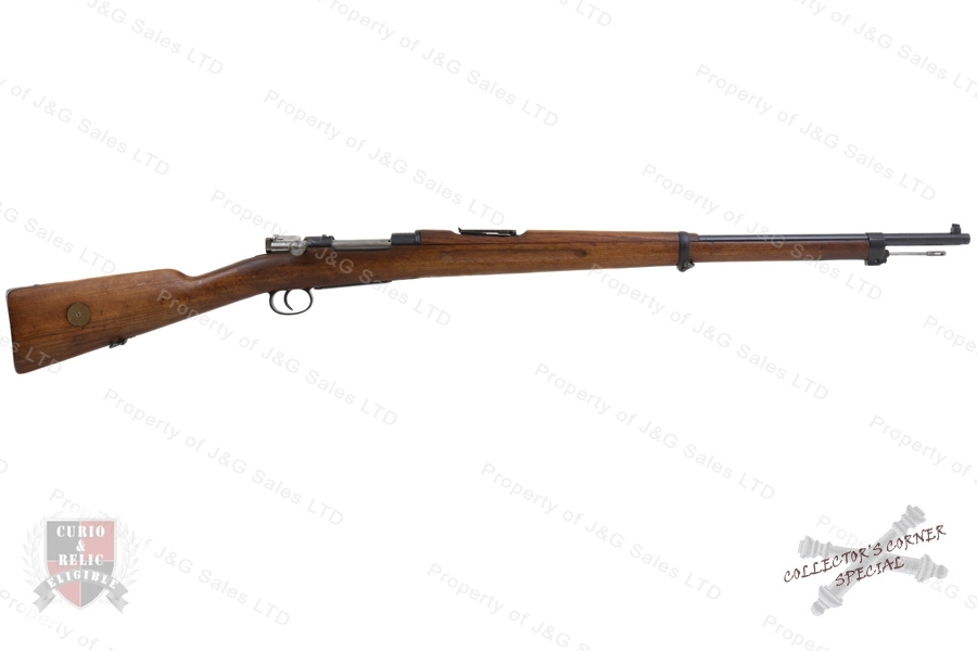 "Swedish 1896 Mauser Bolt Action Rifle, 6.5x55 Swede, 29"" Barrel, 1900 Mfg, C&R, VG, Used."
