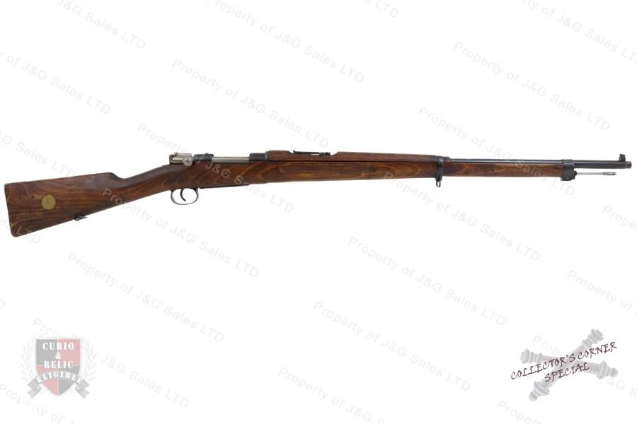 "Swedish 1896 Mauser Bolt Action Rifle, 6.5x55 Swede, 29"" Barrel, 1918 Mfg, C&R, VG, Used."