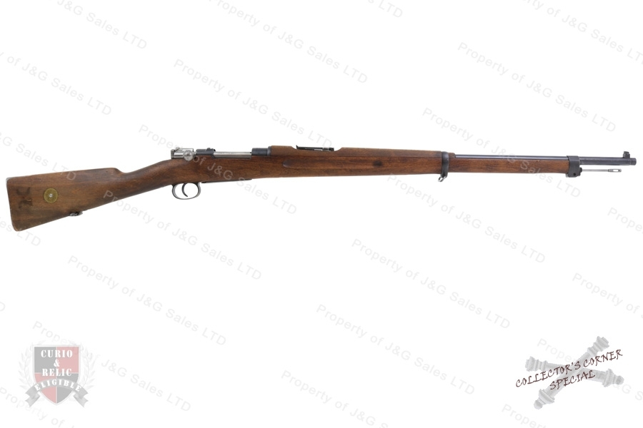 "Swedish 1896 Mauser Bolt Action Rifle, 6.5x55 Swede, 29"" Barrel, 1919 Mfg, C&R, VG, Used."