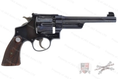 "Smith & Wesson 38/44 Outdoorsman, 38 Special, 6.5"" Barrel, Adjustable Sights, C&R, VG, Used, S&W."