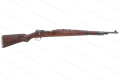 Yugo 48 Mauser Bolt Action M48 Rifle, 8x57, With Crest, C&R, G-VG, Batch, Used.
