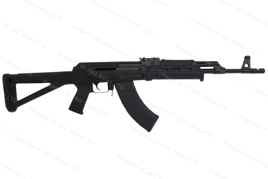 CAI C39V2 AK Style Semi Auto Rifle, 7.62x39, With Side Mount, Black, US Mfg, New.