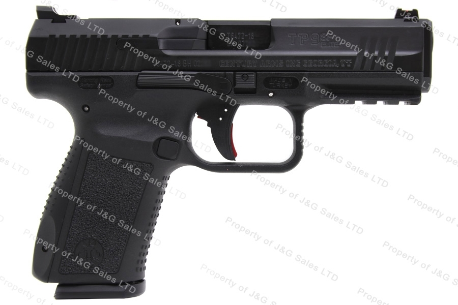Canik TP-9SF Elite 9mm Semi Auto Pistol, Single Action TP9SF, Black, By CAI, New.