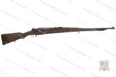 Siamese 46 Mauser Bolt Action Rifle, 8x50R, C&R, GSS, Used.