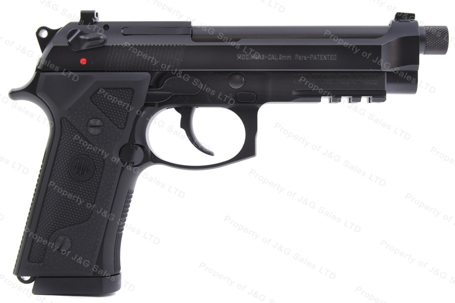 "Beretta M9A3 Semi Auto Pistol, 9mm, 5"" Barrel, Night Sights, New."
