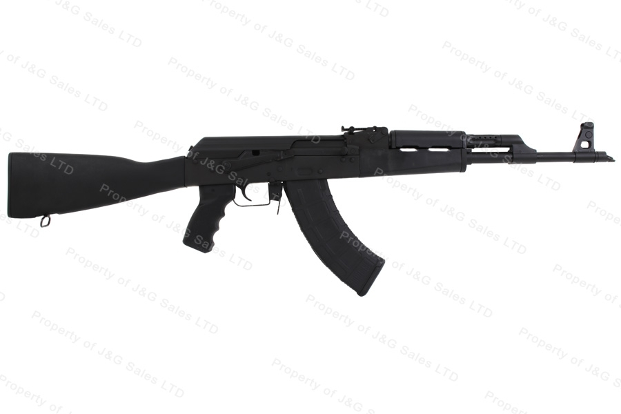 CAI RAS47 AK Style Semi Auto Rifle, 7.62x39, Black Synthetic Stock, US Mfg, New.