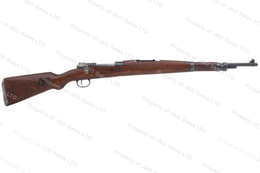 Yugo 48A Mauser Bolt Action M48A Rifle, 8x57, With Crest, C&R, G-VG, Used.